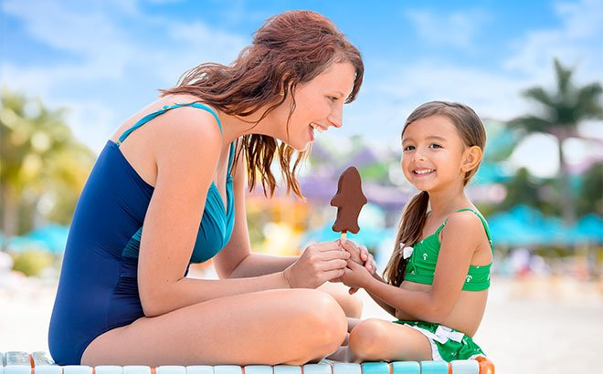 Cool down with some sweet treats at Aquatica.