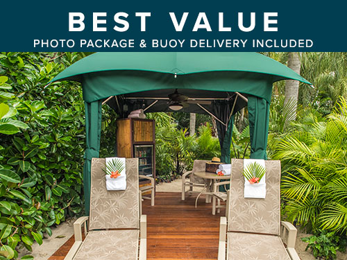 Reserve an Elite Cabana at Discovery Cove Orlando