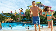 Enjoy high-speed water slides, exhilarating wave pools and tranquil beaches at Aquatica.